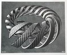 spirals mc escher 1953 s Mc Escher Art, Escher Kunst, Maurits Cornelis Escher Obras, Fantasy Images, Dutch Artists, Op Art, Optical Illusions, Doodles, Illustration Art