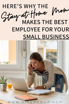 """Here's what one employer has to say about HireMyMom: """"I posted a job about two weeks ago and received a GREAT response from Stay-at-Home professional Moms. Resume after resume were of high quality candidates with impressive qualities."""" K. Gilder Moms make the BEST work at home employees. Want to learn more? Click here!"""