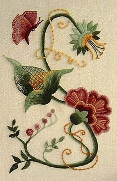 Crewel Work Embroidery ....