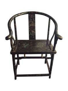 Pair of antique/vintage Chinese chairs in black lacquer with intricate painted decoration. Nice condition with minor loses to lacquer. Sure to be a keeper! Asian Chairs, Chair Design, Furniture Design, Chinese Furniture, Oriental Design, Diy Hacks, Outdoor Furniture, Outdoor Decor, Chinoiserie