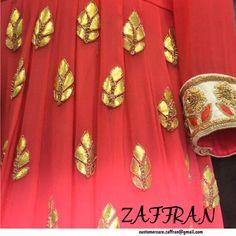 Anarkali ensemble by ZAFFRAN