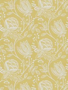 Buy Mirabella in Chartreuse, a feature wallpaper from Harlequin, featured in the Purity collection from Fashion Wallpaper. Hand Embroidery Designs, Embroidery Patterns, Print Patterns, Embroidery Stitches, Gauguin Tahiti, Feature Wallpaper, Kitchen Wallpaper, Fashion Wallpaper, Wedding Linens