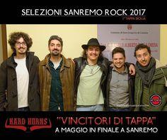 #sanremorock #hardhorns #vincitoriditappa #catania in finale a maggio a #sanremo