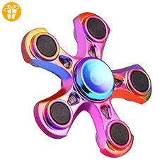 Clode® 2017 EDC Fidget Spinner Hochgeschwindigkeits-Edelstahllager ADHD Focus Angst Spielzeug (Multicolor) - Fidget spinner (*Partner-Link)
