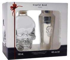 Crystal Head Vodka Shaker set | Next Day Delivery | 31DOVER.com