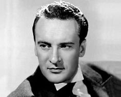George Sanders- he was the best cad in Hollywood & he had the best, sexy, alluring voice- you may recognize it when he did the voice of Disney's The Jungle Book- he voiced the character Shira Khan.
