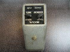 vox vintage pedals | vox tone bender vintage vox tone bender guitar pedal