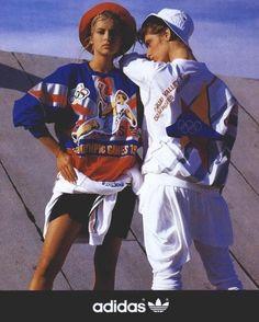 Sick vintage Adidas ad (1987, English Vogue) : streetwear