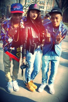 aint nun but two guys to complete the #female #swag