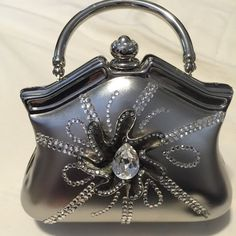 c870caa56b9c18 Shop Women's Silver size Small evening Baby Bags at a discounted price at  Poshmark. Description: One of a kind Evening silver bag !