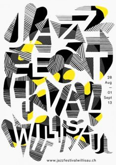 Jazz Festival poster 2013.