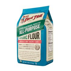 Flours & Meals :: Bob's Red Mill Natural Foods (Page 3) -  Organic Unbleached White All Purpose Flour * Sooo yummy delicious!