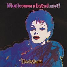 Masterworks Fine Art - Blackglama (Judy Garland) from Ads Series, 1985 by Andy Warhol