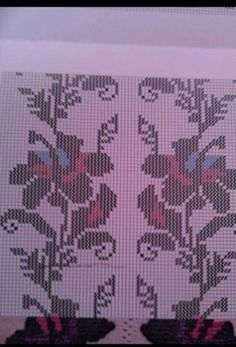 Embroidery Stitches, Diy And Crafts, Cross Stitch, Pattern, Handmade, Punto De Cruz, Dots, Flowers, Patterns