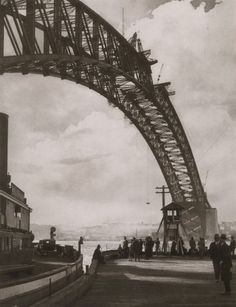 Harold Cazneaux Arch in the Sky. Sydney, 1930
