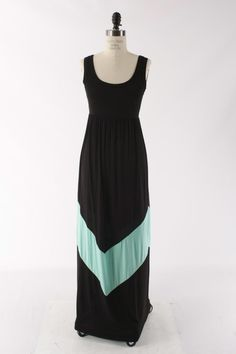 Southern Jewlz Online Store - Mint Chevron Maxi Dress, $42.95 (http://www.southernjewlz.com/mint-chevron-maxi-dress/)