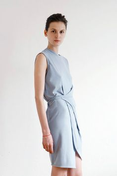 White Tent /    Wrap Dress - CHIEF STORE