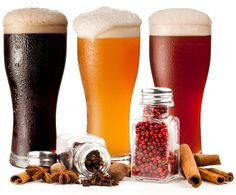 Spice up your life with a spiced up beer. Some common and not so common spices to try infusing you craft brew beers with. Beer Brewing Kits, Brewing Recipes, Homebrew Recipes, Beer Recipes, All Beer, Wine And Beer, Best Beer, Bares Y Pubs, Home Brewery