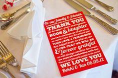 A Red and White Polka Dot Kind Of Wedding! | Love My Dress® UK Wedding Blog