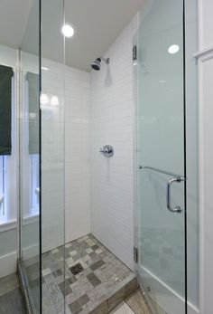 small shower..might actually be a good fit for my tiny powder room