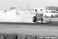 Top Fuel Cox Banzai One- The Texas based Banzai AA/FD found the Bakersfield surface a bit tricky