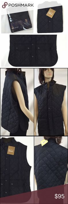 """MAKE A OFFER!NWT Barbour QuiltedBlack Vest Size XL FROM THE TRENDY DESIGNER OF BARBOUR, THIS LIGHT WEIGHT QUILTED VEST THAT IS LIGHT WEIGHT YET WILL KEEP YOU WARM IN THE FALL!  REGULAR FIT ADJUSTABLE WAIST 100% POLYAMIDE 28"""" LENGTH 46"""" BUST  DON'T MISS THIS EXCELLENT BRAND NEW VEST THAT WILL HAVE YOU WALKING IN STYLE!  SMOKE-FREE-HOME Barbour Jackets & Coats Vests"""