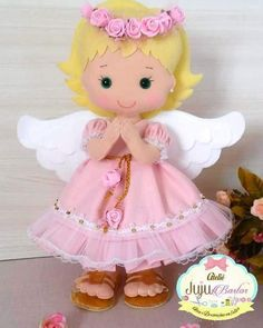 1 million+ Stunning Free Images to Use Anywhere Felt Crafts Dolls, Felt Angel, Fairy Clothes, Felt Fairy, Christmas Knitting Patterns, Christmas Fairy, Lol Dolls, Sewing Projects For Beginners, Felt Ornaments