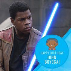 "158.2k Likes, 998 Comments - Star Wars (@starwars) on Instagram: ""Happy Birthday, John Boyega! You're a big deal around here. #StarWars #TheForceAwakens #Birthday…"""