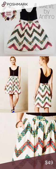 cb314f404a29 Maeve by Anthropologie dress size 6 pockets Anthropologie Maeve amapola dress  size 6 with pockets 70