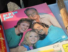 All in the Family Vintage Vinyl at the 2014 September FOUND FLEA!