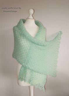 spalla Wrap, foulard triangolare Donna Lunga Fashion Oro Tulle da sposa Pearl coprispalle