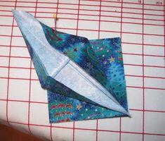 Magpie Shinies: No-Sew Fabric Origami Crane Ornaments - Tutorial Fabric Origami, Origami Cranes, Origami Crane Tutorial, Best Steam Iron, Crane Bird, Ornament Tutorial, Oragami, Fabric Remnants, Animal Totems