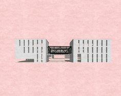Cuartel de Bomberos Pdte. Balmaceda. (Recuerdo proyecto de taller) #architecture