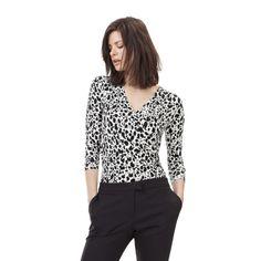 I have just purchased Angie Wrap Body from Baukjen Womenswear UK - https://www.baukjen.com/uk/baukjen-sale/tops-sale/angie-wrap-body-monochrome-dot-print.htm