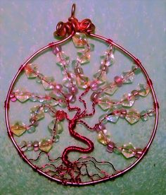 Tree of life pendant Wiccan tree of life jewelry by Binkisbling, $60.00