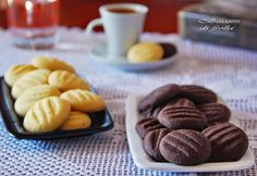 Biscuits, Sweet And Salty, Cookie Bars, Easy Desserts, Waffles, Almond, Cereal, Sweets, Cookies