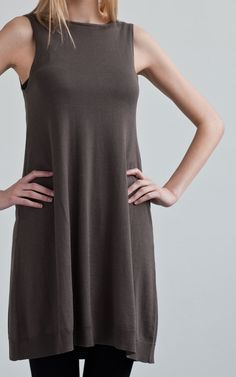 Dress knit soft lines great for layering...