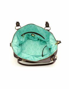 Hudson Leather Diaper Bag