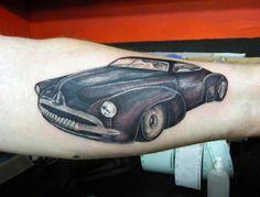 hot rod tattoo www.tattooandtattoo.com