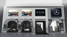 pop up stores | Le nouveau « Pop-Up Store » de Mercedes-Benz à Paris