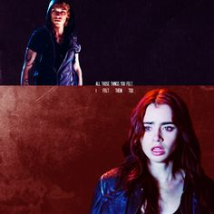 """""""If you're being punished,"""" Clary said, """"then so am I. Because all those things you felt, Ifelt them too, but we can't—we have to stop feeling this way, because it's our onlychance.""""Jace's hands were tight at his sides. """"Our only chance for what?""""""""To be together at all. Because otherwise we can't ever be around each other, not evenjust in the same room, and I can't stand that. I'd rather have you in my life even as abrother than not at all"""""""