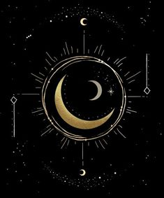 Tick-tock - this Moon Phase Art Print will give your walls a bohemian, witchy vibe. Each print is designed by hand in NYC. Printed in the USA Archival Heavyweight Paper (Matte) Available with or without white border. Moon Phases Art, Moon Art, Moon Moon, Wallpaper Moon, Art Soleil, Constellation Art, Time Turner, New Moon Rituals, Moon Painting