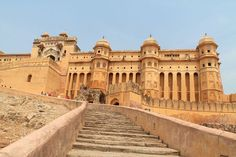 Touring the Forts and Palaces in Jaipur, India --