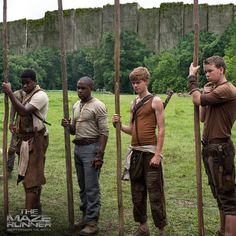 THE MAZE RUNNER: Newt, Gally and the Gladers Banish Ben into the Maze #themazerunner