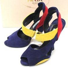 Prada Womens shoes - Calzature Donna_ Navy-Soluel