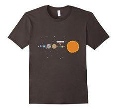 Amazon.com: Solar System - You are here... Maps Pointer Nerd T-Shirt: Clothing