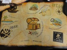 "Photo 1 of 32: Pirates / Birthday ""Arghhhh....Mateo's 3rd birthday pirate party"" 