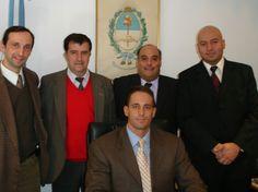 Director General Juan Pablo Fioribello y Directores del Ministerio de Seguridad