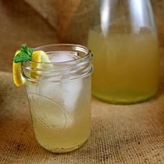 This Bourbon-Peach Lemonade is a to-die-for dessert drink recipe. You'll love this alcoholic drink spin on such a traditional flavor. It's one summer dessert recipe you won't want to pass up.