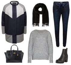 #Herbstoutfit Cool ♥ #outfit #Damenoutfit #outfitdestages #dresslove